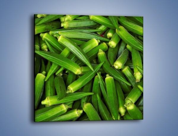 Obraz na płótnie – Warzywna egzotyka – jednoczęściowy kwadratowy JN191