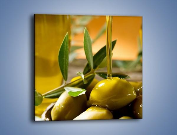 Obraz na płótnie – Oliwa z oliwek – jednoczęściowy kwadratowy JN195