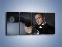 Obraz na płótnie – Bond. james bond – czteroczęściowy L239W1