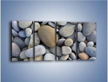Obraz na płótnie – Kamienie duże i małe – czteroczęściowy O006W1
