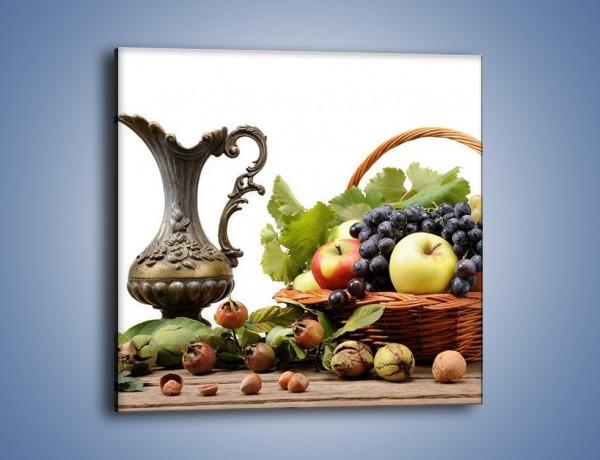 Obraz na płótnie – Orzechowo-owocowy mix – jednoczęściowy kwadratowy JN203