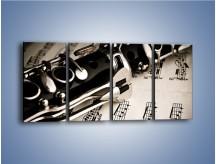 Obraz na płótnie – Egzamin z muzyki – czteroczęściowy O216W1