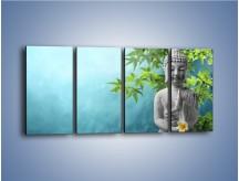 Obraz na płótnie – Idealny świat harmonii i spokoju – czteroczęściowy O258W1