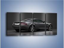Obraz na płótnie – Aston Martin DB9 Coupe – czteroczęściowy TM059W1