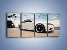 Obraz na płótnie – BMW M3 Strasse Forged Wheels – czteroczęściowy TM094W1