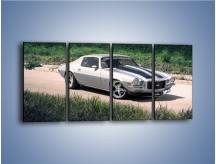 Obraz na płótnie – Chevrolet Camaro 1983 – czteroczęściowy TM105W1
