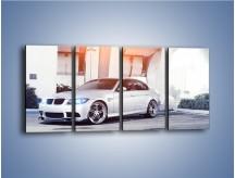 Obraz na płótnie – BMW 3 E90 – czteroczęściowy TM112W1