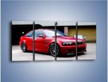 Obraz na płótnie – BMW M3 E46 Coupe – czteroczęściowy TM125W1
