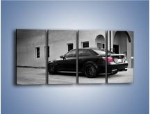 Obraz na płótnie – BMW M5 E70 – czteroczęściowy TM135W1