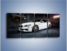 Obraz na płótnie – BMW M6 F13 Vossen Wheels – czteroczęściowy TM169W1
