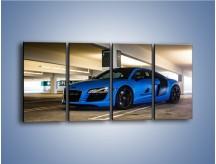 Obraz na płótnie – Audi R8 – czteroczęściowy TM180W1