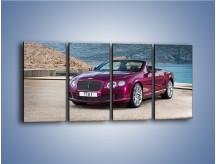 Obraz na płótnie – Bentley Continental Speed GT – czteroczęściowy TM187W1