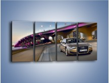 Obraz na płótnie – Audi A8 – czteroczęściowy TM188W1