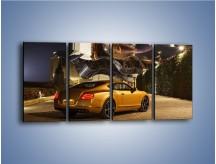 Obraz na płótnie – Bentley Continental GT V8 – czteroczęściowy TM190W1