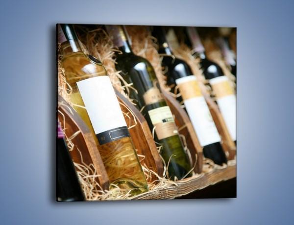 Obraz na płótnie – Kolekcja win – jednoczęściowy kwadratowy JN212