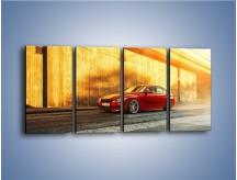 Obraz na płótnie – BMW 3 F39 – czteroczęściowy TM235W1