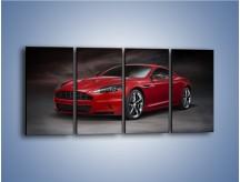 Obraz na płótnie – Aston Martin DBS Carbon Edition – czteroczęściowy TM242W1
