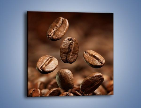 Obraz na płótnie – Kawowe uniesienie – jednoczęściowy kwadratowy JN214