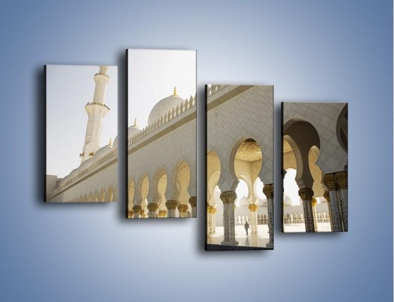 Obraz na płótnie – Bliskowschodnia architektura – czteroczęściowy AM177W2