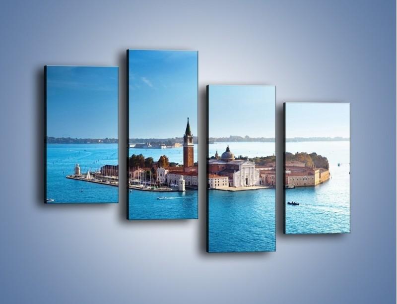 Obraz na płótnie – Wyspa San Giorgio Maggiore – czteroczęściowy AM380W2