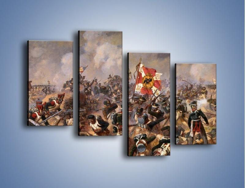 Obraz na płótnie – Wojna i jej skutki – czteroczęściowy GR133W2
