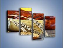 Obraz na płótnie – Chleb pszenno-kukurydziany – czteroczęściowy JN090W2