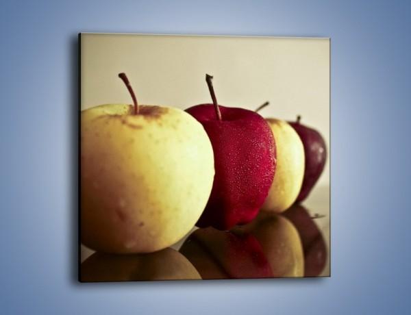 Obraz na płótnie – Jabłuszkowe smaki dzieciństwa – jednoczęściowy kwadratowy JN267