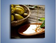 Obraz na płótnie – Bogactwa wydobyte z oliwek – jednoczęściowy kwadratowy JN270