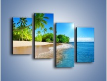 Obraz na płótnie – Bajeczne wakacyjne wspomnienia – czteroczęściowy KN1110AW2