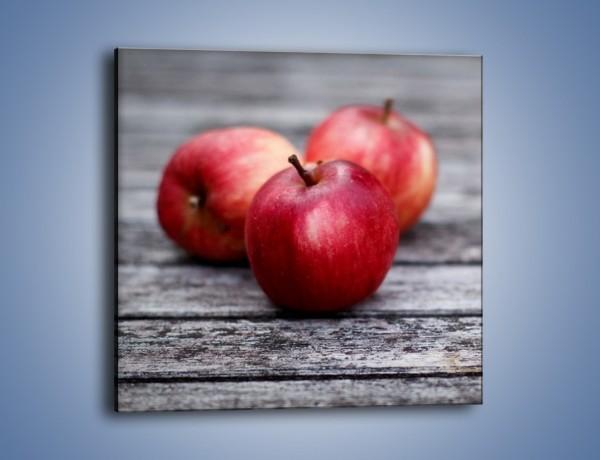 Obraz na płótnie – Jabłkowe zdrowie – jednoczęściowy kwadratowy JN296