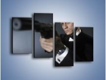 Obraz na płótnie – Bond. james bond – czteroczęściowy L239W2