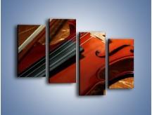 Obraz na płótnie – Instrument i muzyka poważna – czteroczęściowy O025W2