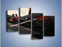 Obraz na płótnie – Instrumenty stworzone do pięknej melodii – czteroczęściowy O054W2