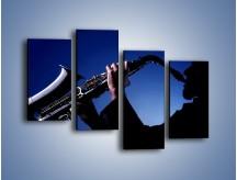 Obraz na płótnie – Koncert na saksofonie – czteroczęściowy O110W2