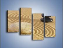 Obraz na płótnie – Harmonia podzielona na pół – czteroczęściowy O231W2