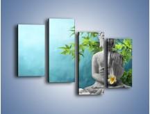 Obraz na płótnie – Idealny świat harmonii i spokoju – czteroczęściowy O258W2