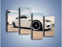 Obraz na płótnie – BMW M3 Strasse Forged Wheels – czteroczęściowy TM094W2