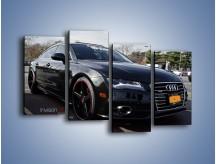 Obraz na płótnie – Audi A7 D2forged Wheels – czteroczęściowy TM099W2