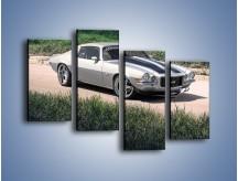 Obraz na płótnie – Chevrolet Camaro 1984 – czteroczęściowy TM105W2