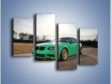 Obraz na płótnie – BMW E92 M3 Tuning – czteroczęściowy TM108W2