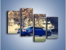 Obraz na płótnie – BMW M3 Coupe E103 – czteroczęściowy TM114W2