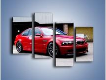 Obraz na płótnie – BMW M3 E46 Coupe – czteroczęściowy TM125W2