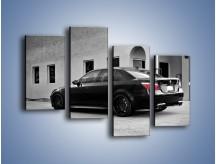 Obraz na płótnie – BMW M5 E71 – czteroczęściowy TM135W2