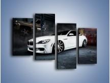 Obraz na płótnie – BMW M6 F13 Vossen Wheels – czteroczęściowy TM169W2