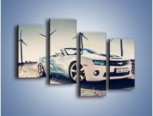 Obraz na płótnie – Chevrolet Camaro Cabrio – czteroczęściowy TM173W2