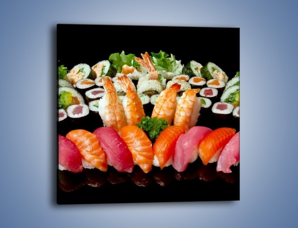 Obraz na płótnie – Smaki prosto z azji – jednoczęściowy kwadratowy JN307