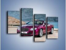 Obraz na płótnie – Bentley Continental Speed GT – czteroczęściowy TM187W2