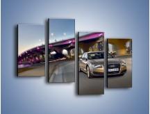 Obraz na płótnie – Audi A8 – czteroczęściowy TM188W2