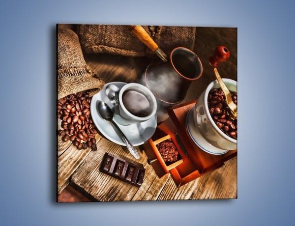 Obraz na płótnie – Smaki kawy dla dorosłych – jednoczęściowy kwadratowy JN313