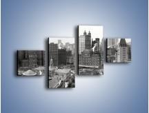 Obraz na płótnie – Manhattan na początku XX wieku – czteroczęściowy AM686W3